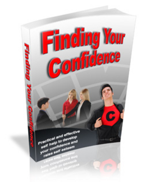 Product picture Finding Your Confidence - Make More Money From Your Website