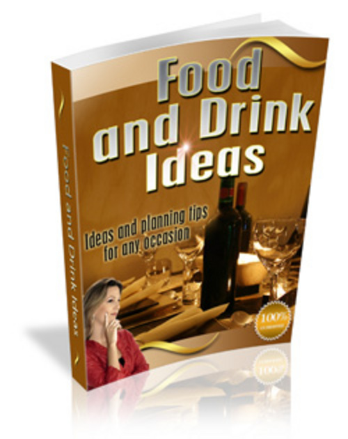 Product picture Good Food And Drink Ideas - Make More Money Online