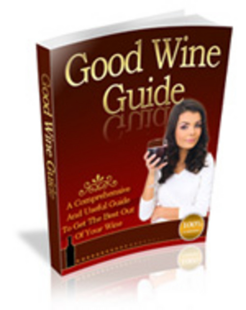 Product picture Good Wine Guide - Make More Money From Your Website